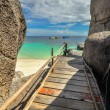 Koh Nang Yuan Island, Thailand — Stock Photo