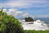 海岸海神庙庙复杂,在巴厘岛 — 图库照片