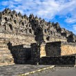 Stock Photo: Borobudur complex in Yogjakartin Java
