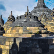 Stock Photo: StupBorobudur in Yogjakartin Java