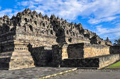 Borobudur complex in Yogjakarta in Java — Stock Photo