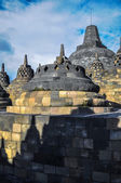 Stupa Borobudur in Yogjakarta in Java — Stock Photo
