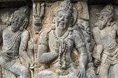 Freske de prombanan templo hindú de yogjakarta en java — Foto de Stock