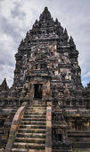 Hindu temple Prombanan complex in Yogjakarta in Java — Stock Photo