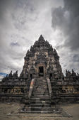 Temple Prombanan complex in Yogjakarta in Java — Stock Photo