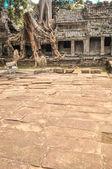 古代クメール寺院アンコール ワット、シェムリ アップ c — ストック写真