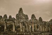 Bayon ναό και angkor wat khmer συγκρότημα σε siem συγκεντρώνει, Καμπότζη — Φωτογραφία Αρχείου