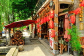 Rebuild Song dynasty town in dali, Yunnan province, China. — Foto de Stock