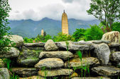 Rebuild Song dynasty town in dali, Yunnan province, China. — ストック写真