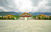 Rebuild Song dynasty town in dali, Yunnan province, China. — Stock Photo