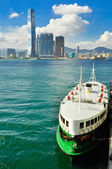Hong Kong Island ferry — Stock Photo