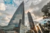 Shanghai skyline poudon island — Stock Photo