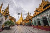 Yango shwedagon pagoda tapınağı — Stok fotoğraf