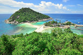 Koh Tao a paradise island in Thailand. — Stock Photo