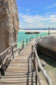 Koh Tao Boardwalk - a paradise island in Thailand. — Stock Photo