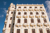 Cuba architecture building on havana plaza 2013 — Stock Photo