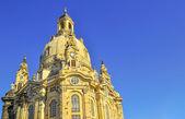 Dresden Church Frauenkirche — Stock Photo