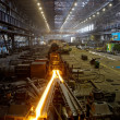 Production of rolled steel — Photo