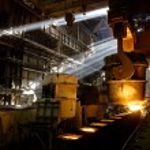 Постер, плакат: Making metal in factory