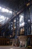 структуры внутри мастерская — Стоковое фото