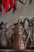 Old oriental teapots — Stock Photo