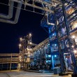 Oil and Gas Processing Plant — Stockfoto