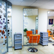 Stock Photo: Interior of modern hair salon