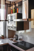 Modern kitchen interior — Stock fotografie