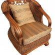 Stock Photo: Wooden armchair