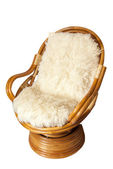 Wooden chair — Stock Photo