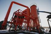 Steel pipelines — Stockfoto