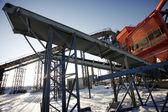 Encanamentos de aço — Fotografia Stock