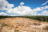 Stone quarry — Stock Photo