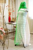 Wide choice of fabrics — Stock Photo