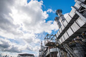 Ferroalloy plant — Stock Photo
