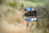 Cross-country buggy race — Stock Photo