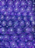 Starry Night Handmade Abstract Background — 图库照片