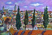 Sibiu, transilvanya manzara — Stok fotoğraf