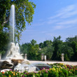 Fountain in Aranjuez — Stockfoto