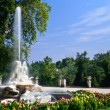 Fountain in Aranjuez — Foto de Stock