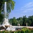 Fountain in Aranjuez — Stock Photo