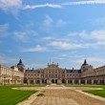 Royal Palace of Aranjuez (Spanish: Palacio Real de Aranjuez) — Stock Photo