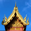 Thai temple roof — Stock Photo