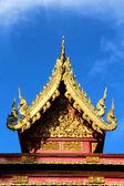 Thai temple roof — Foto Stock