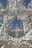 White temple, Wat Rong Khun — Foto Stock