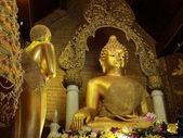 The Buddha in Thai church — Stock Photo
