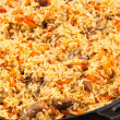 Pilaf (Plov) - Afghan, Uzbek, Tajik national cuisine main dish — Stock Photo #32696667