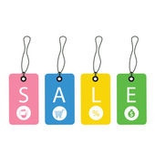 Promotion sale tag — Stock Vector