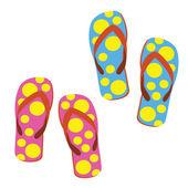 Sandaler — Stockvektor