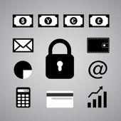 Simbolo di affari — Vettoriale Stock
